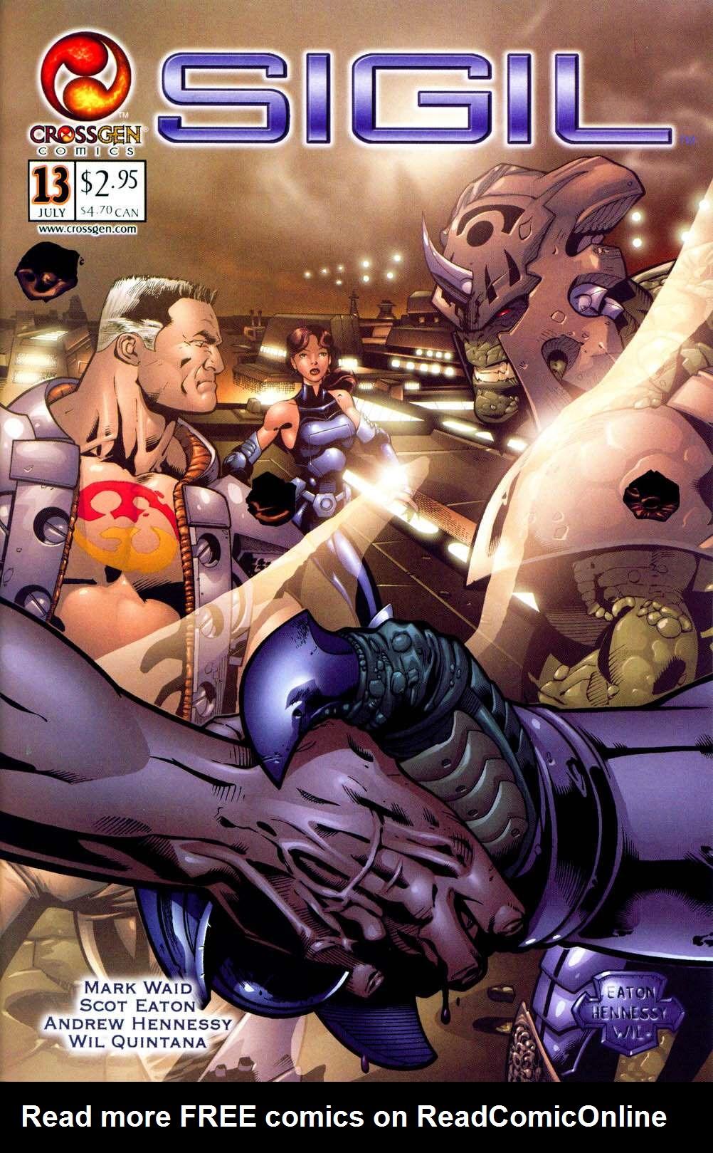 Read online Sigil (2000) comic -  Issue #13 - 1