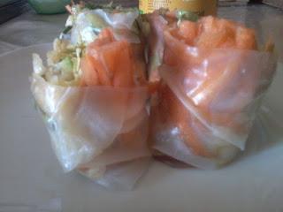 involtini vietnamiti fogli riso crudi