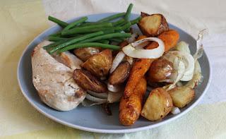 Sunday's roast - chicken