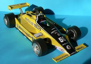Williams FW-07 Ford RAM MacDonald - Rupert Keegan Austrian GP 1980 Rado Radevicz