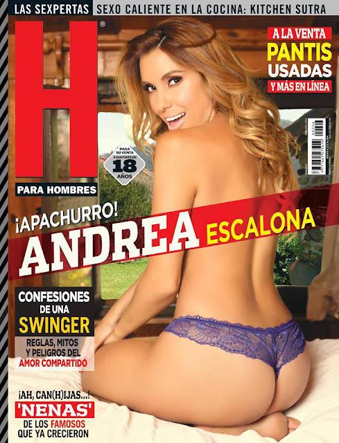 Portada Andrea Escalona Revista H Julio 2016