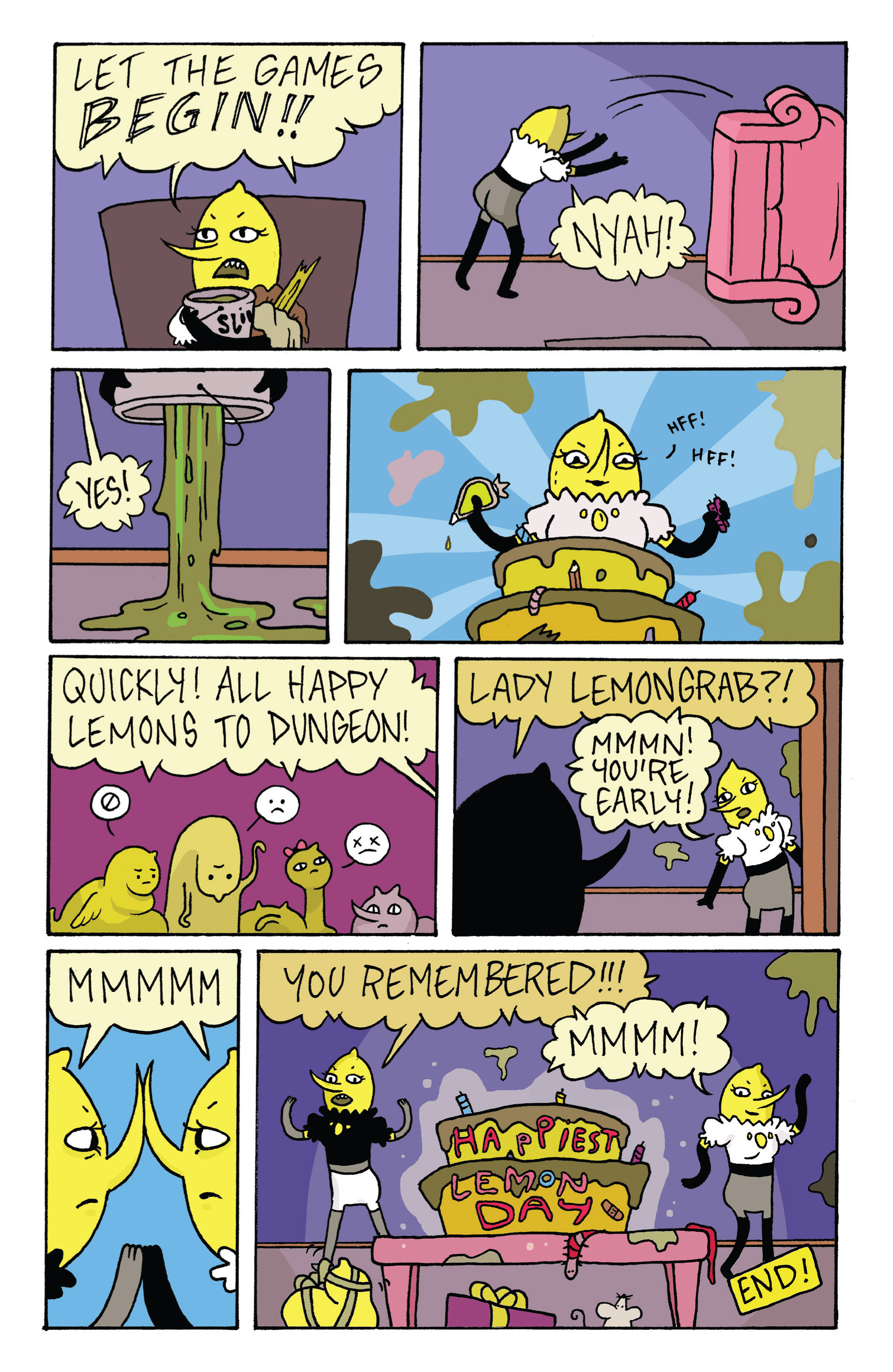 Read online Adventure Time with Fionna & Cake comic -  Issue #3 - 28