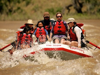 Holiday River Expeditions offers advice on choosing, enjoying and treasuring a multi-generations rafting trip