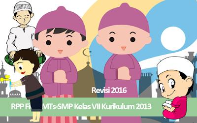 Download RPP Fiqih MTs-SMP Kelas VII Kurikulum 2013 Revisi 2016