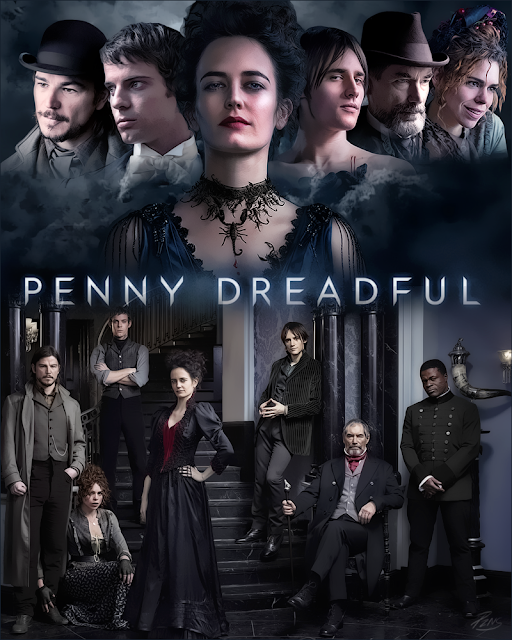 Penny Dreadful netflix serie tv eva green