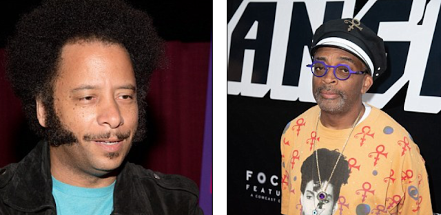 Director Boots Riley slams Spike Lee for 'made up' BlacKkKlansman - claiming the film depicts cops as heroes when history shows they were the 'villain'