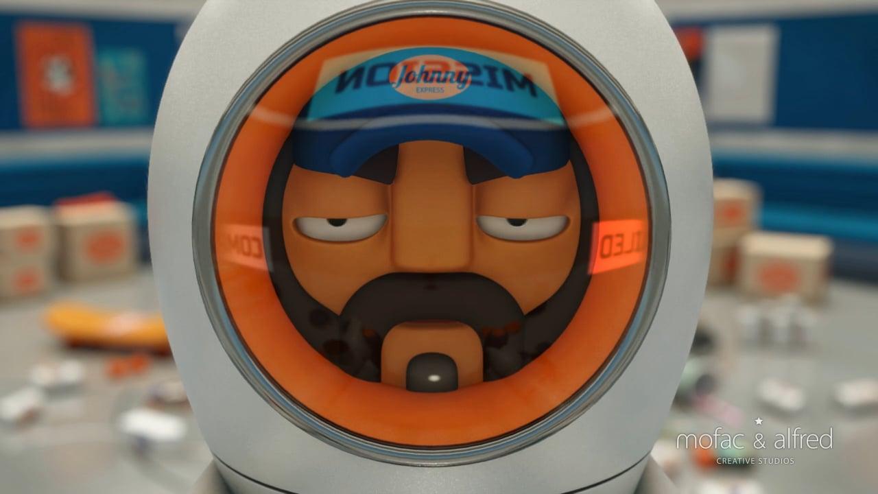 Johnny Express  - Cortometraje animación 3D