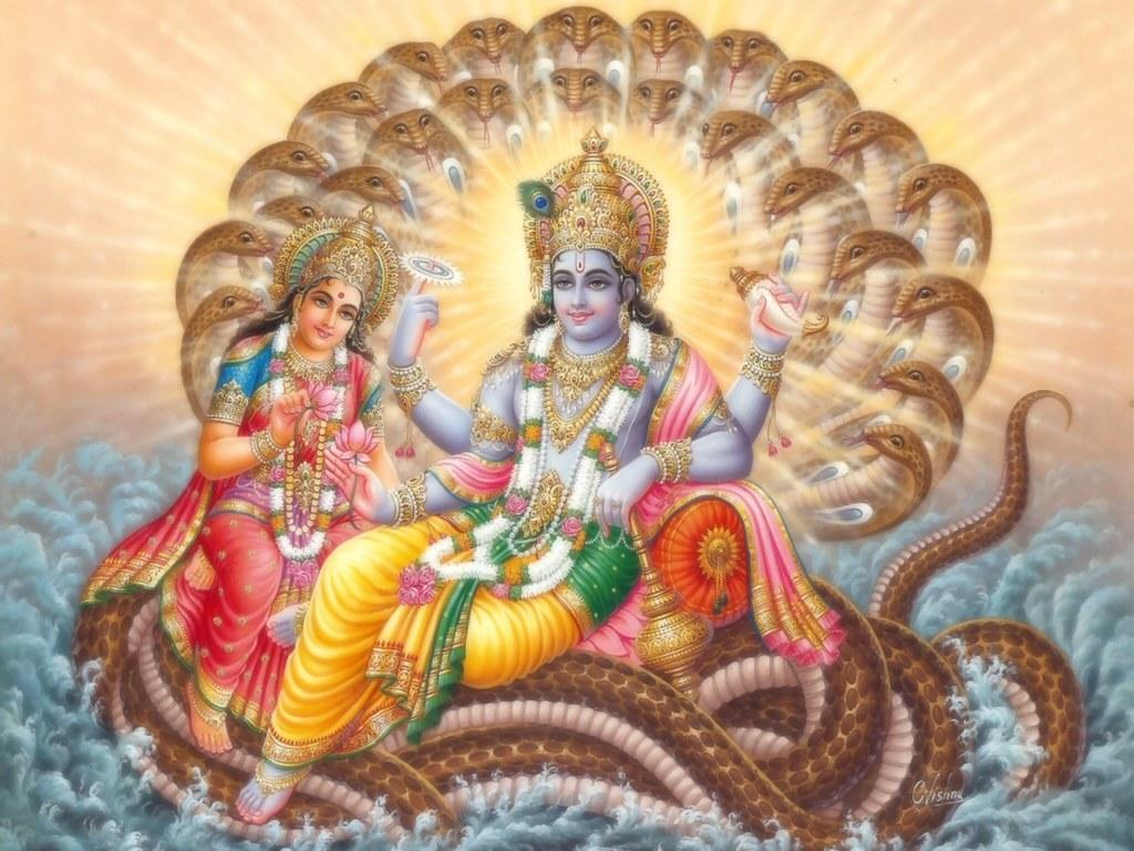 Lord Vishnu Wallapapers | God Wallpapers - Wallpapers