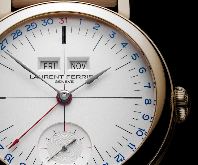 Laurent Ferrier Galet Annual Calendar School Piece Opaline White