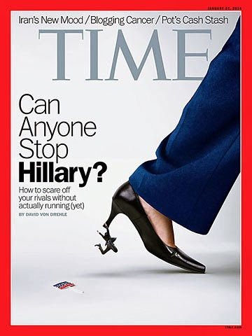 Uproar over Time Magazine cover story on Hillary – Blazing