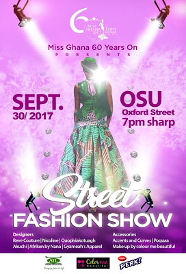 2017 Miss Ghana Holds Street Fashion Show This Saturday Ahead Of Grand Finals