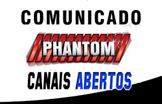 Comunicado Phantom Aos Usuários da Marca e Pedido de Desculpas e Afastamento de Um Membro da Equipe Confiram - 22/02/2019