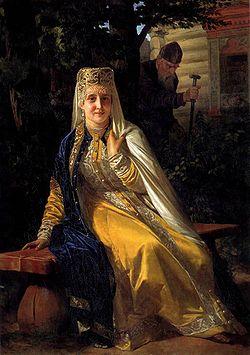 (Неврев 1886) Василиса Мелентьевна