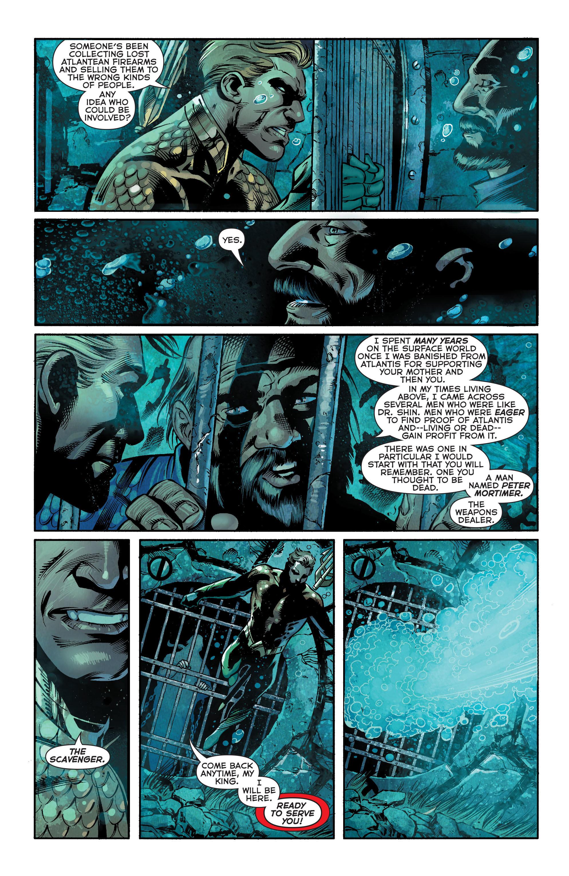 Read online Aquaman (2011) comic -  Issue #18 - 15