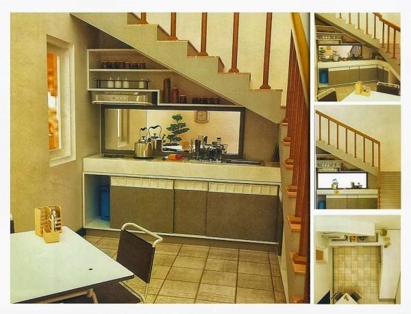Dapur di bawah tangga referensi rumah for Kitchen set dibawah 5 juta