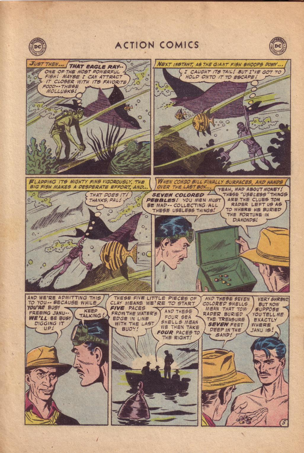 Read online Action Comics (1938) comic -  Issue #232 - 22