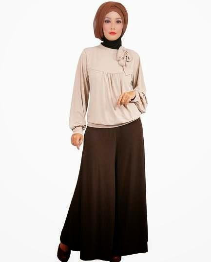 Design pakaian islamic minimalis terpopuler