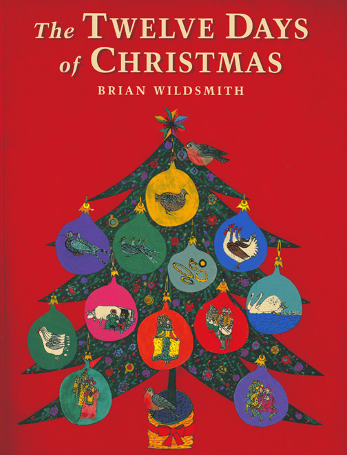 Twelve Days Of Christmas Book.The Art Of Children S Picture Books The Twelve Days Of