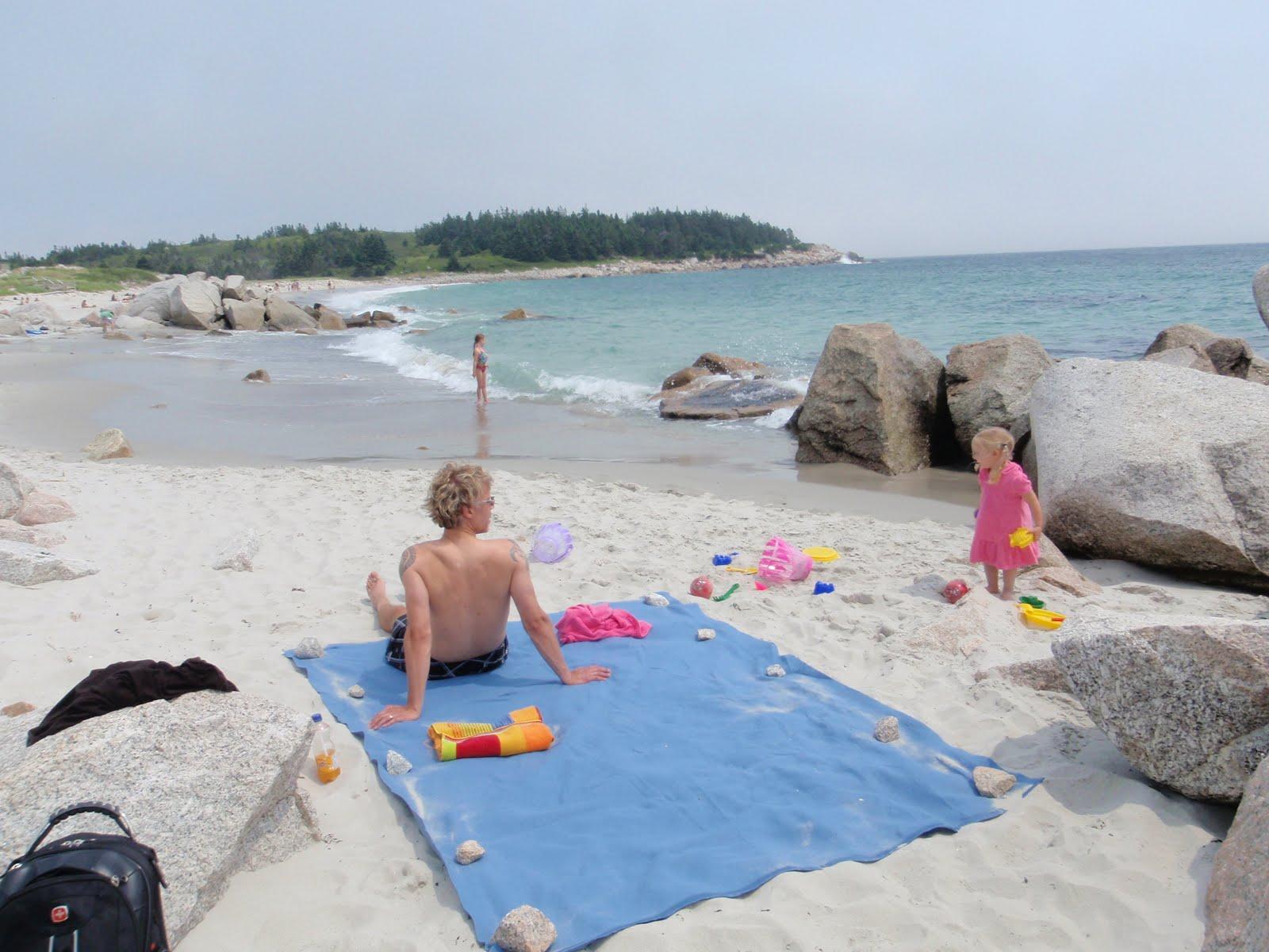Crescent beach naturist area