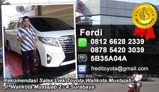 Liek Toyota Walikota Mustajab Surabaya