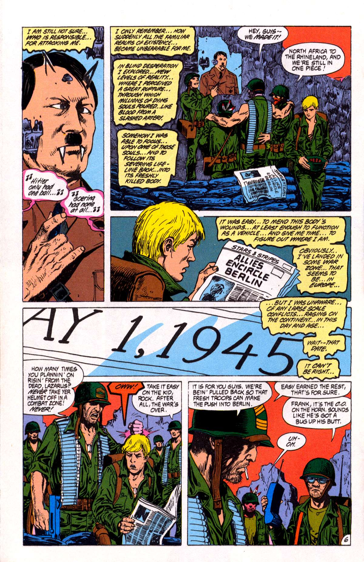Swamp Thing (1982) Issue #82 #90 - English 7