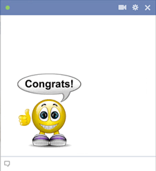 Congratulations Smiley Emoticon