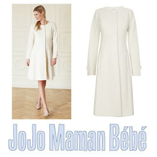 Kate Middleton Style wore JOJO MAMAN BEBE Coat