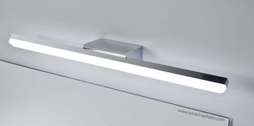 aplique LED baño mural foco luz