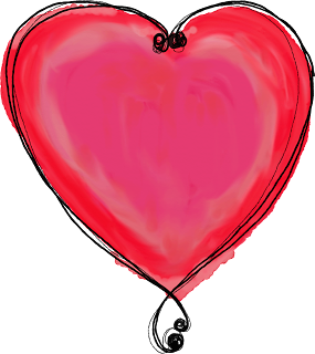 Free Printable Hearts from All You Need is Love Clipart.