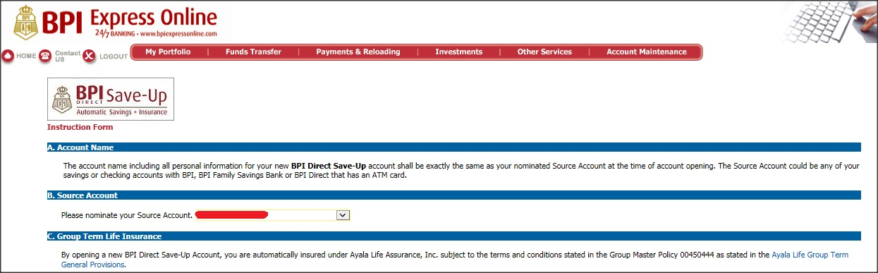 How to Open a BPI Direct Save-Up Account Online - One Armed