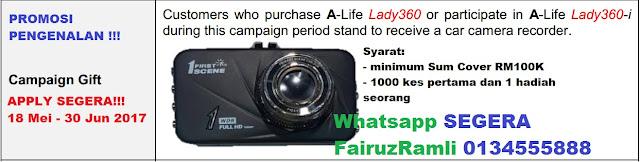 Promosi A-Life Lady360-i 2017