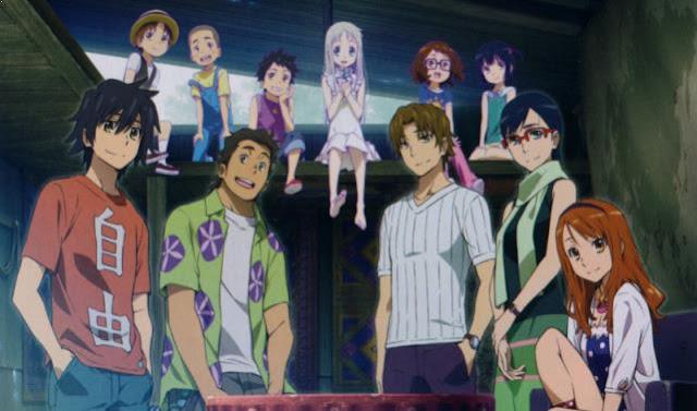 Anohana (Ano Hi Mita Hana no Namae wo Bokutachi wa Mada Shiranai.) - Anime Buatan Studio A-1 Pictures Terbaik