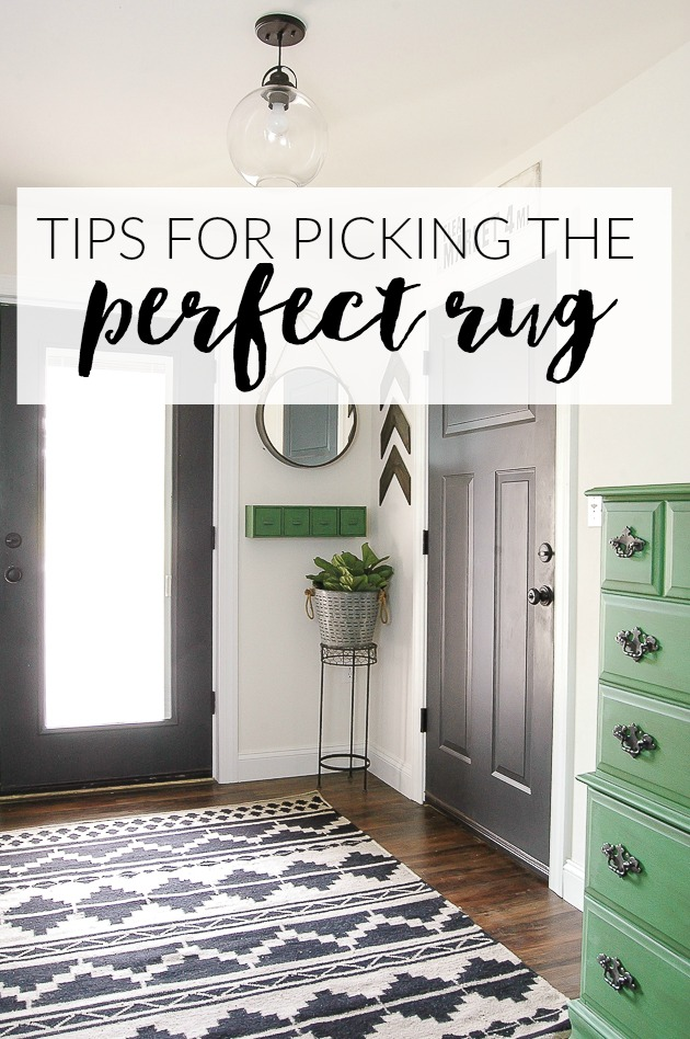 How to pick the prefect rug