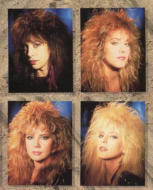 A Musing Potpourri Blast From The Past 80s Hair