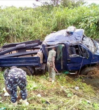 Policemen Used For Osun Election Involved In Fatal Accident