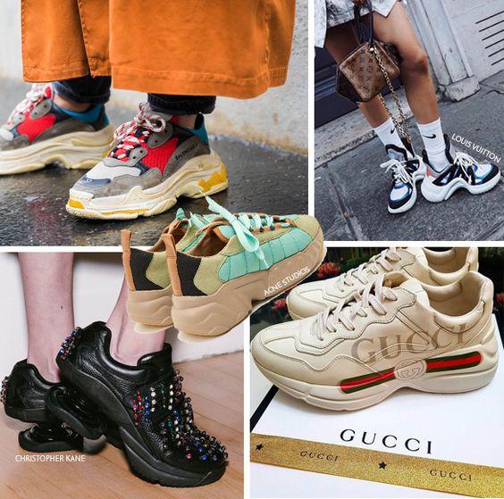 Está na Moda - Chunky Sneakers