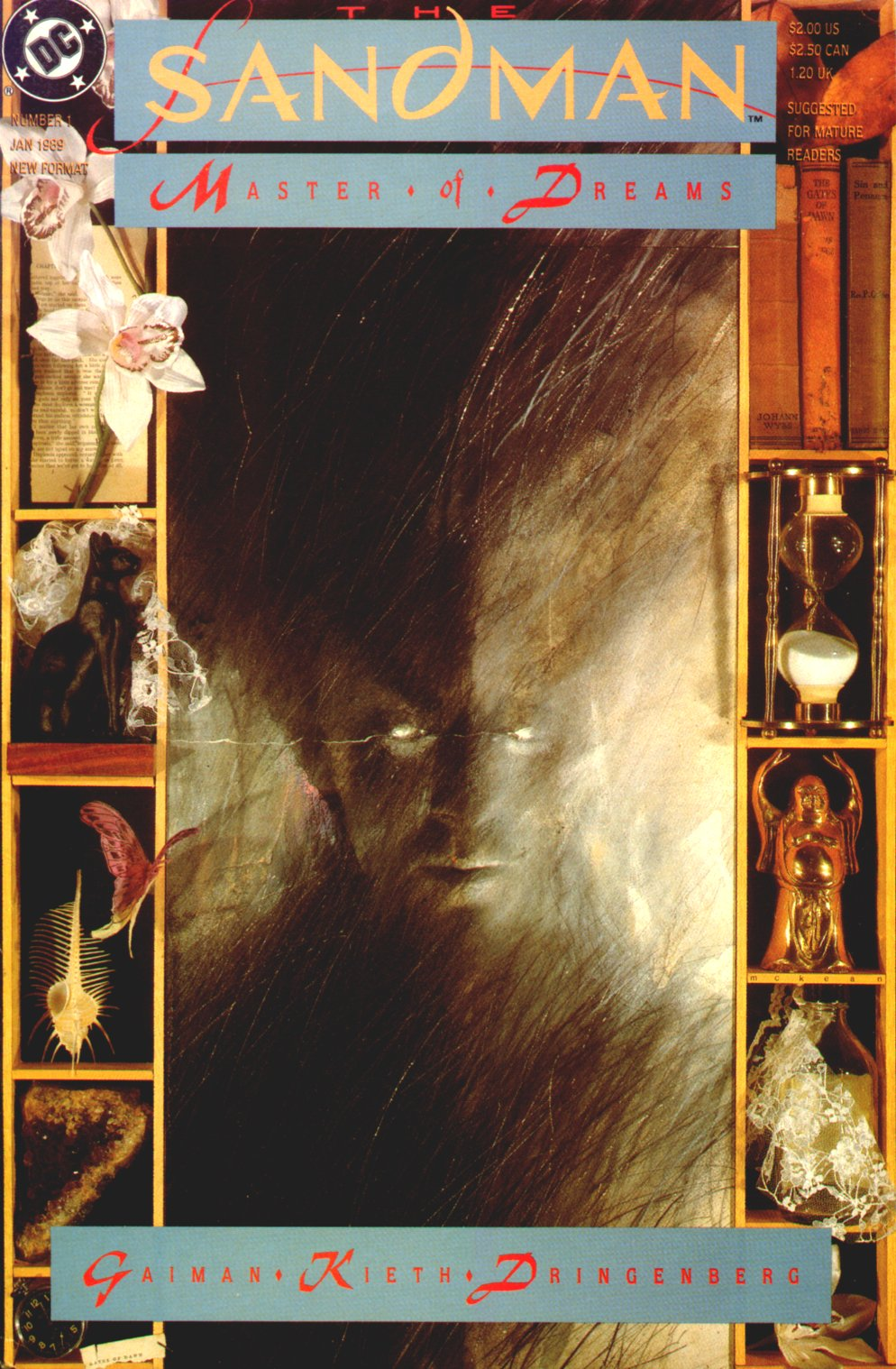 The Geeky Nerfherder: Comic Book Cover Art: The Sandman