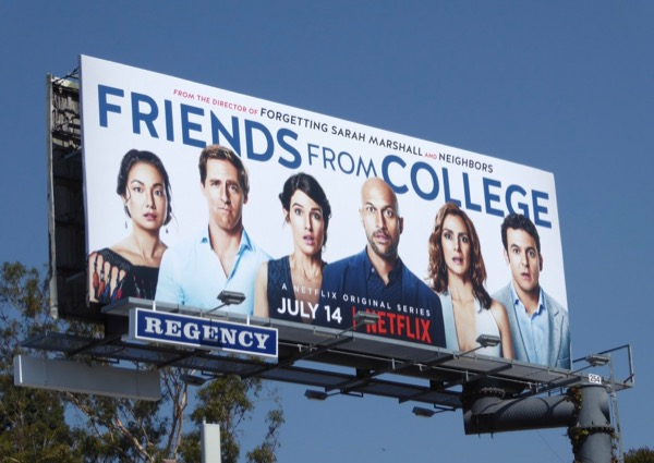 Friends from College season 1 billboard