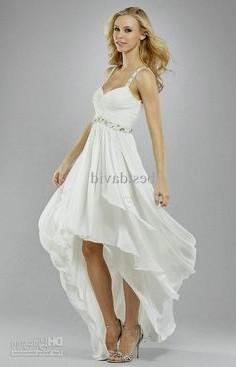 Simple Wedding Dress Casual Beach