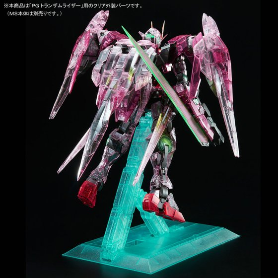 P-Bandai: PG 1/60 00 Raiser Trans-Am Clear