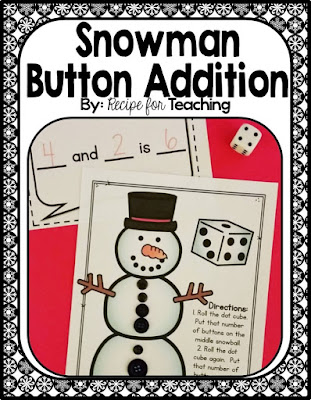 https://www.teacherspayteachers.com/Product/Snowman-Button-Addition-2280581