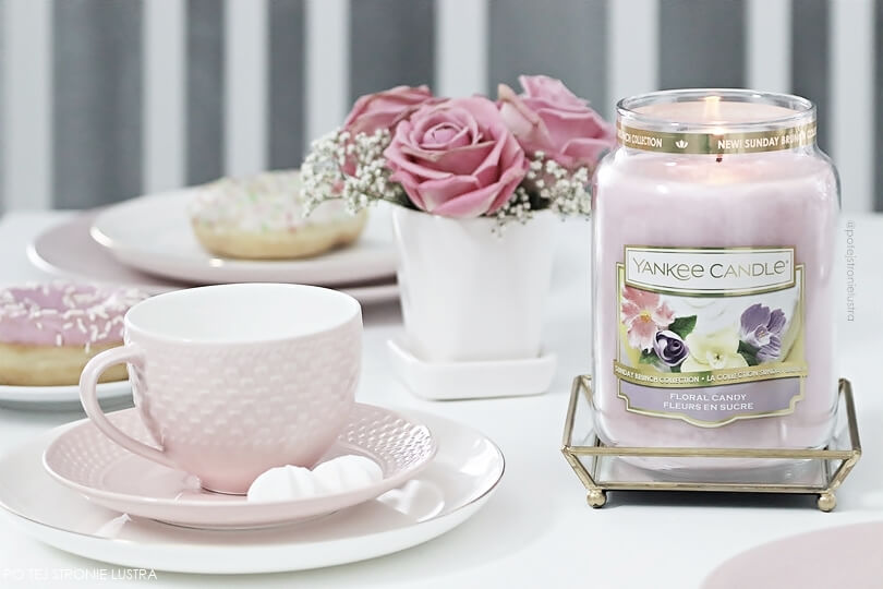 yankee candle floral candy blog recenzja