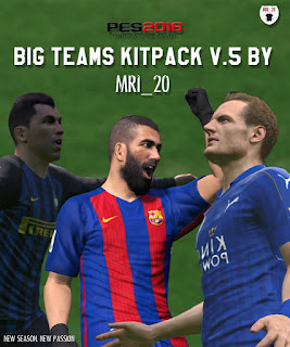 PES 2016 Big Teams Kitpack V5 by MRI_20