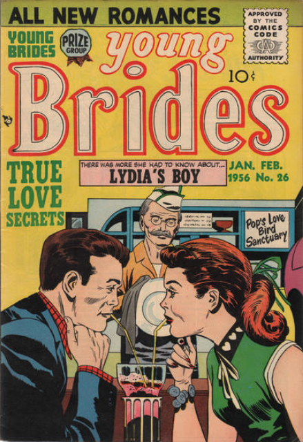 Kirby Young Brides comic