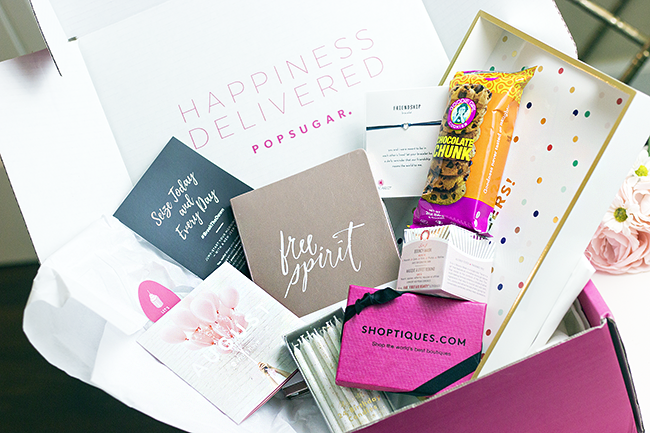 Review: August PopSugar Must Have Box
