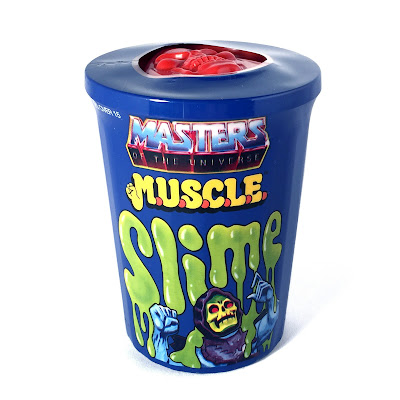 "Power-Con Exclusive Masters of the Universe ""Slime Green"" M.U.S.C.L.E. Trash Can Mini Figure Set by Super7"