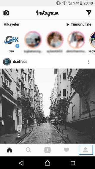 instagram şifre değişikliği