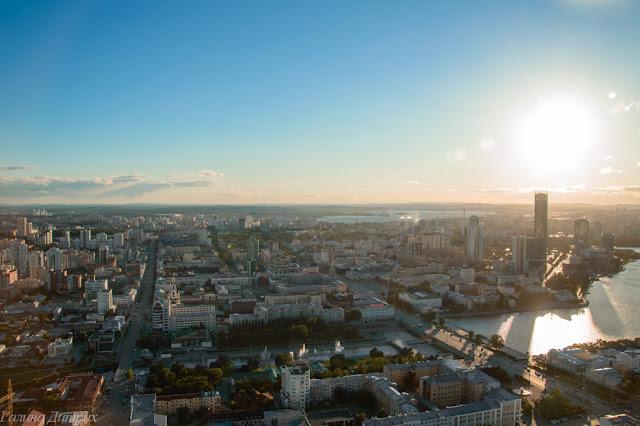 Вид со смотровой площадки Высоцкий фото