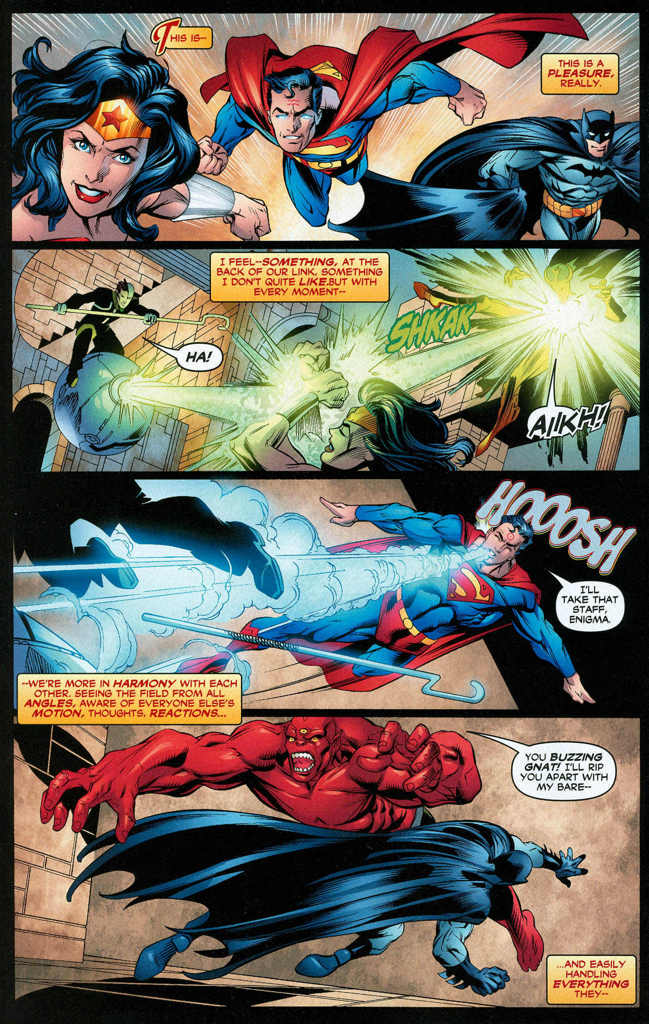 Read online Trinity (2008) comic -  Issue #16 - 15