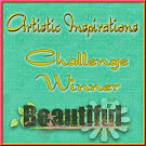 3 x Artistic Inspirations Winner